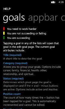 Life Goals Screenshot 6